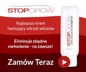Stop Grow - Najlepszy krem hamujący odrost włosów!